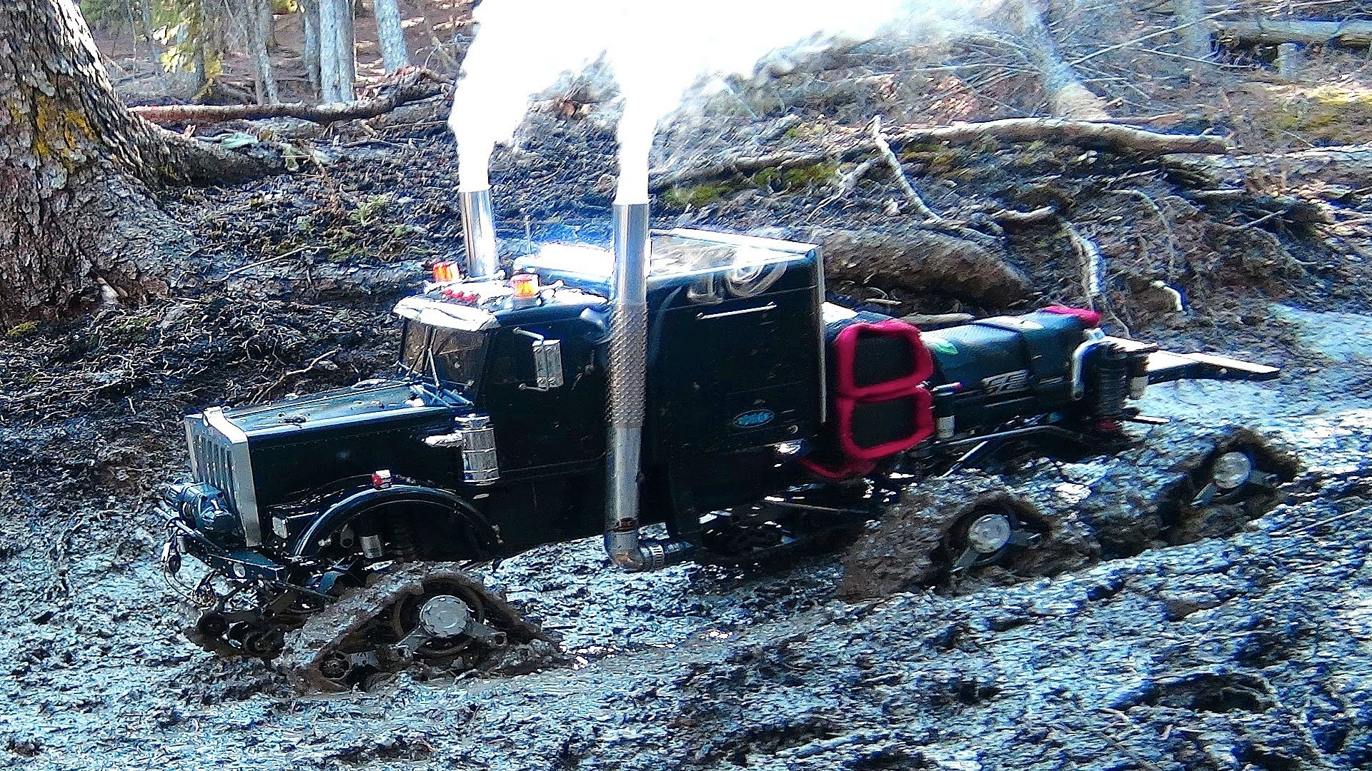 Mud Bog Monster Truck Is A Rc 4x4 Semi Truck Off Road Beast That Is